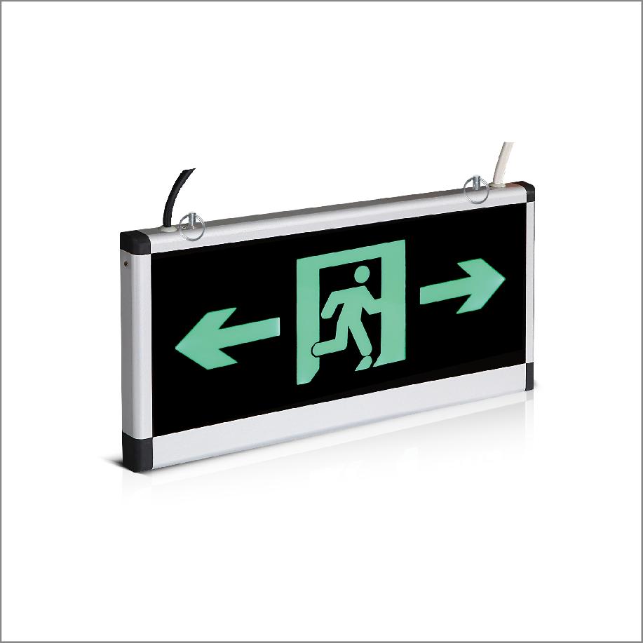 集中控制型双面双向消防应急标志灯具一
