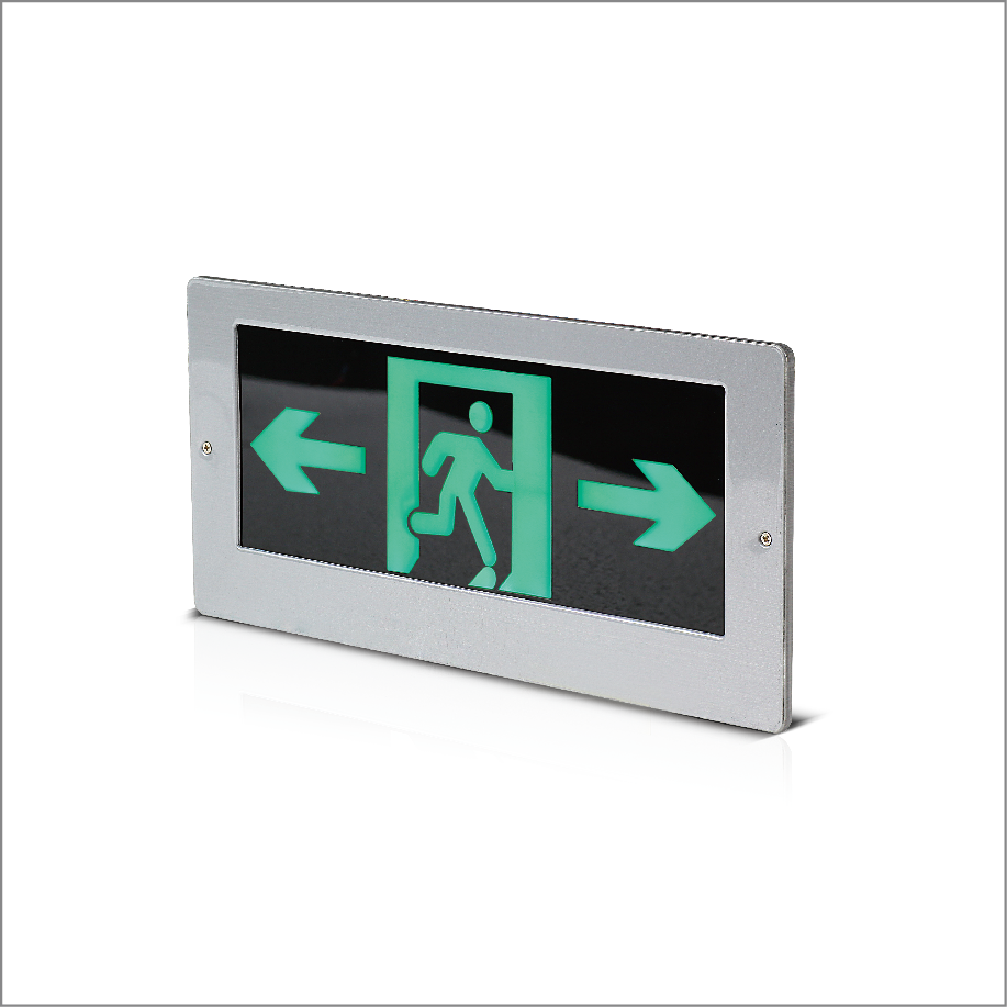 集中控制型单面双向消防应急标志灯具二