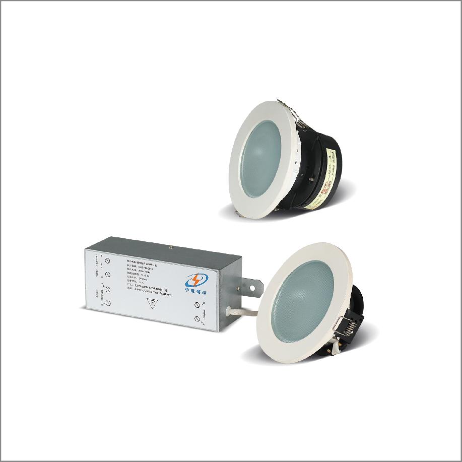 集中控制型圆形环筒消防应急照明灯具